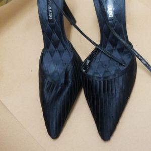 Used black size 8 3inch Enzo Angiolini
